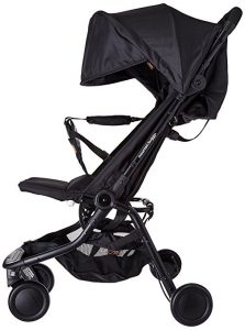Side View Mountain Buggy Nano Stroller