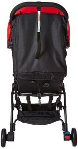 Back View Mountain Buggy Nano Stroller