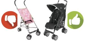 Umbrella Strollers aren't all the same